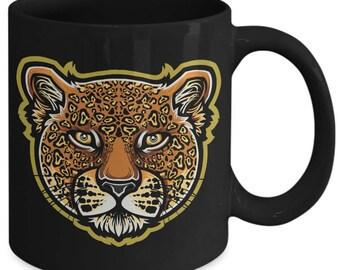 Jaguar Big Cat Feline Spotted Animal Coffee Mug