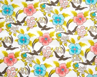 Cloud 9 Maman Chinoiserie Organic Cotton Fabric - 1 yard