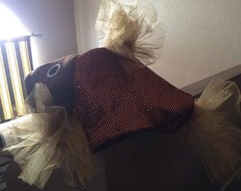 Copper beta fish costume
