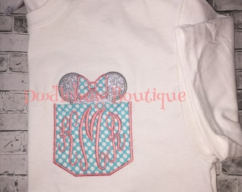 Minnie Mouse pocket shirt
