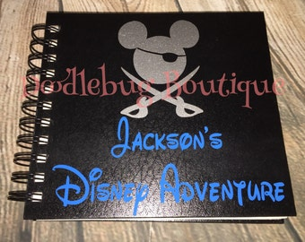 Mickey Pirate autograph book