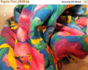 ON SALE Hawaiian Print Knit-Hawaiian Fabric-Soft Hawaiian Knit Fabric-Hawaiian Floral Fabric