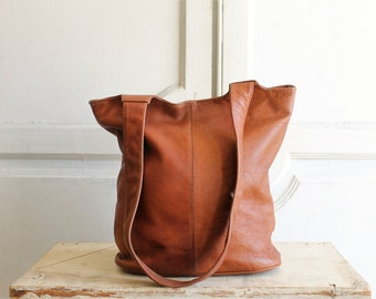 vintage FRYE slouchy leather bag