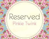 Reserved Listing for Eileen