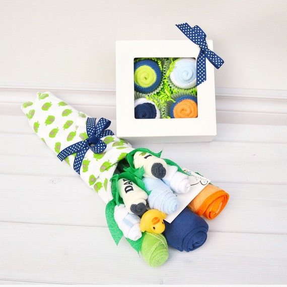 Best Baby Gift Sets : Items similar to boy newborn gift set baby layette