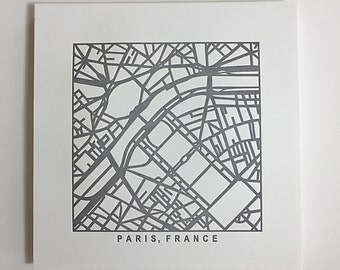 Paris pressed prints