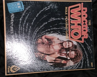 Vintage Dr. Who, Role Playing Game