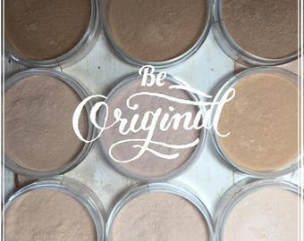 Mineral Foundation, Compare Bare Minerals, Natural Makeup, Mineral Make Up, For Sensitive Skin, UKOLA Medium Tan, For Olive Complexion