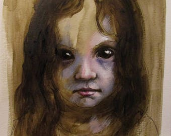 Golden - original sketch by Kellie Marian Hill