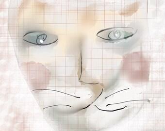 Cat Art - Buffy