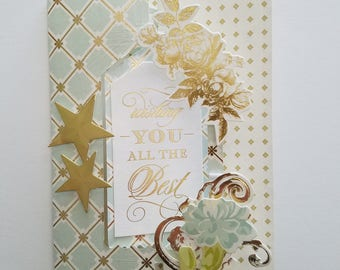 Handmade Special Day Flip Card - Anna Griffin greeting card