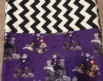 nightmare before Christmas changing pad cover