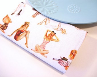 OOPS Sale Pin Up Checkbook Cover LAST ONE