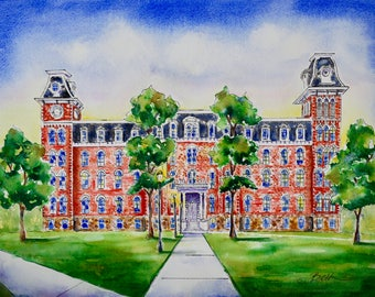 Old Main, front view