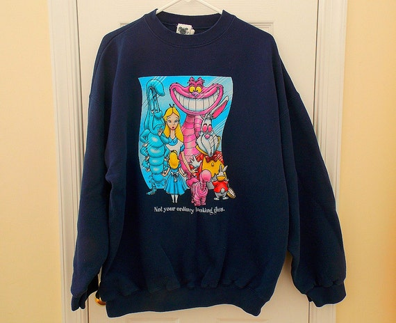 vintage disney sweatshirt in disney