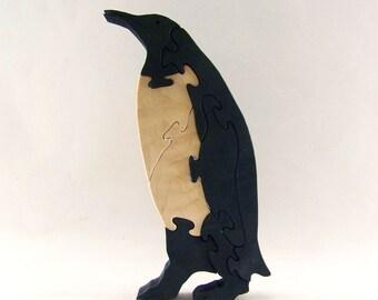 Penguin Wood Puzzle