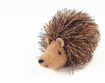 Hedgehog, waldorf toy, toy hedgehog, stuffed toy, stuffed animal,