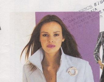 3106 McCall's Jacket Princess Seams  2001