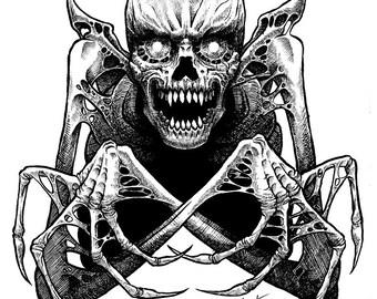 Necromancer Original Drawing