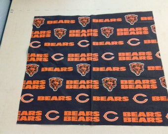 cotton fabric of the Chicago Bears 247723