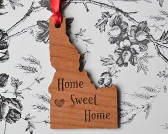 Home Sweet Home Engraved Boise, Idaho Ornament