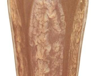 Hampshire Pottery Brown Vase Shape 33