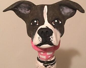 Customize Your Dog  Wine Stopper I