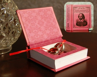 Hollow Book Safe (Mini Love Sonnets of Shakespeare)