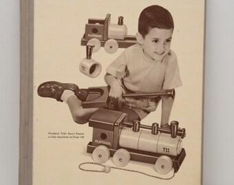 1957 Wards Christmas Toy Catalog Vintage Hardback Store Copy Montgomery Ward MCM