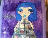 Inspire Odd Girl Art Quilt
