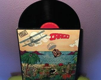 Vinyl Record Album Men At Work - Cargo LP 1983 Aussie Pop Rock Colin Hay