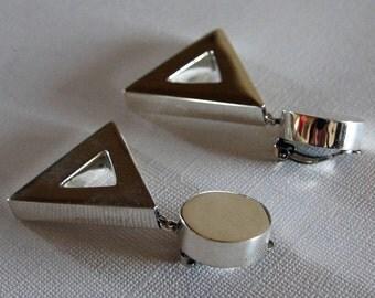 Taxco Silver Earrings Brenda Schoenfeld
