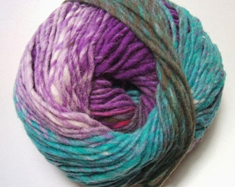 Noro Kureyon Wool Blue Red Purple Teal Yarn Per Skein 349 Lot D