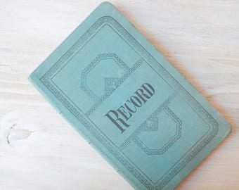 Vintage Accounting Log Book
