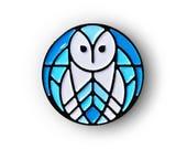 "Barn Owl Soft Enamel Pin - 3/4"" Limited Edition of 100"