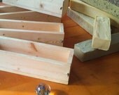 Three 5lb wooden soap molds for fifty sale