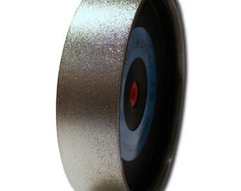 "GLS-518-P, Kent 8"" Diam x 2"" Width Diamond Lapidary Jewelry Grinding Wheel"