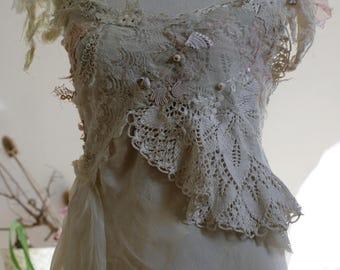 Fractal Forest elven wedding dress