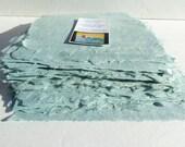 Unique handmade wedgewood gray abaca kozo paper