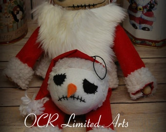 Reserved Jack Skellington big doll decor ooak cute Handmade Inspired The Nightmare before Christmas