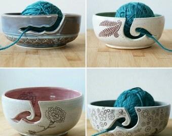 MADE TO ORDER- Custom Yarn Bowl (3-4 week ship time)