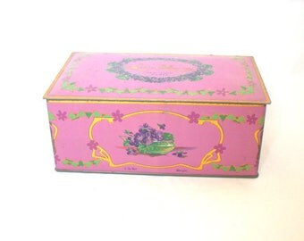 Louis Sherry Antique Candy Tin