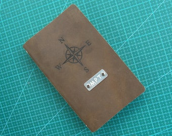 Travel Journal Writing Journal Leather Journal, Leather Journal Personalized, Personalize Journal Diary Notebook