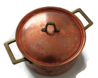 Revere Ware Copper Dutch Oven with Lid Paul Revere