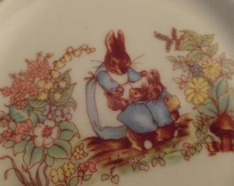 PETER Rabbit Butter Pat Beatrix Potter Bunny