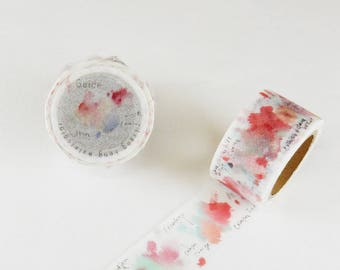 Liang Feng Strawberry Pink washi tape Liang Feng 25mm x 10M