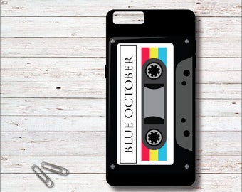 Blue October, Blue October Phone Case, Cassette Tape iPhone Case,, iPhone 6, 6 Plus, 6+, iPhone 7, 7s, 7+, Samsung Galaxy Case, S6, S7