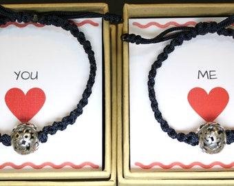 Couples Bracelets, Numbers bracelets, Silver Beads Bracelets, Sterling Silver Bracelets, Thread Handknotted Bracelets, Friendship Bracelets