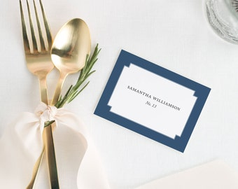 Elegant Border Place Cards - Deposit