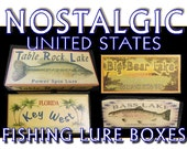 One Harvey's Lake Pennsylvania fishing lure box for Susan design #16